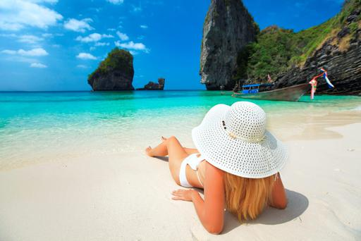 #HOLIDAY: Idyllic beach photos are now a summer staple across social-media platforms