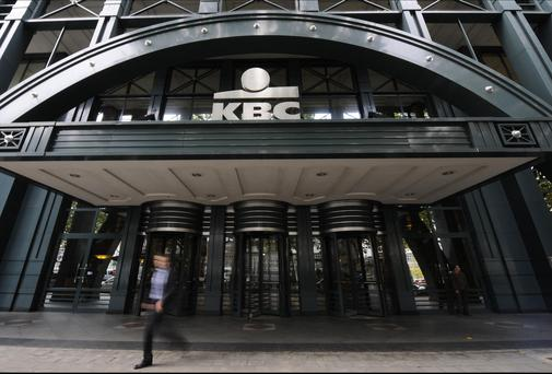 KBC's Irish arm more than doubled its net profit after tax and impairments year-on-year in the second quarter - to €39.5m from €17.8m Photo: AFP