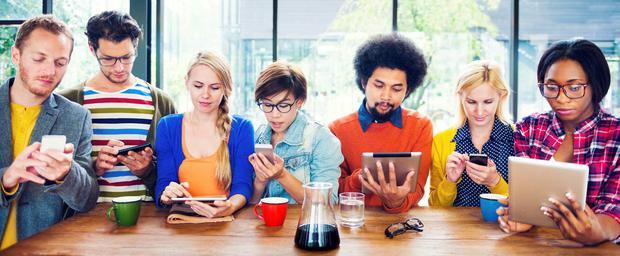 Millennials are the product of a unique, unprecedented set of influences that have produced some wonderful collective qualities (Stock picture)
