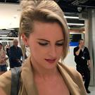 Michaella McCollum arrives back in Ireland.