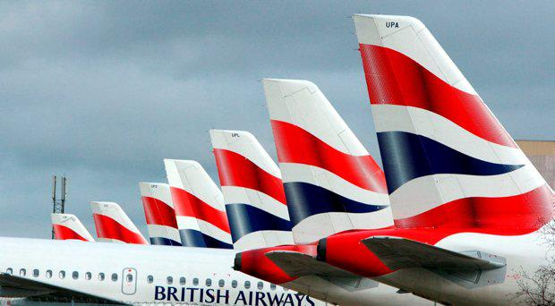 British Airways aircraft at Heathrow Airport