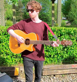 Musician Stevie Martin 'Rainy Boy Sleep' whose body was discovered in Sligo over the weekend. Picture: Conor Macan Amenos/Facebook