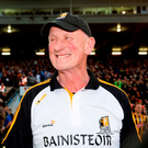 Brian Cody shows his delight after Kilkenny's pulsating replay victory over Waterford. Photo: Sportsfile