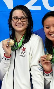 Swimmer Siobhan Haughey was competing for Hong Kong in Rio. Photo: Getty Images