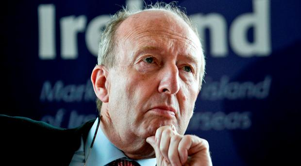 Showdown talks in Rio: Sports Minister Shane Ross. Photo Chris Bellew / Fennell Photography 2016