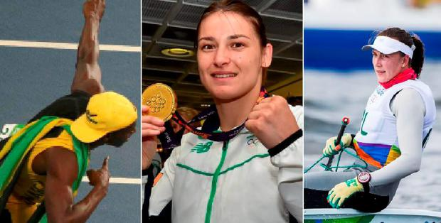 Usain Bolt romped home while Katie Taylor and Annalise Murphy are in action for Ireland today