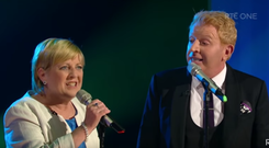 Anne Herlihy performed Both Sides Now with her hero Tommy Fleming on Saturday