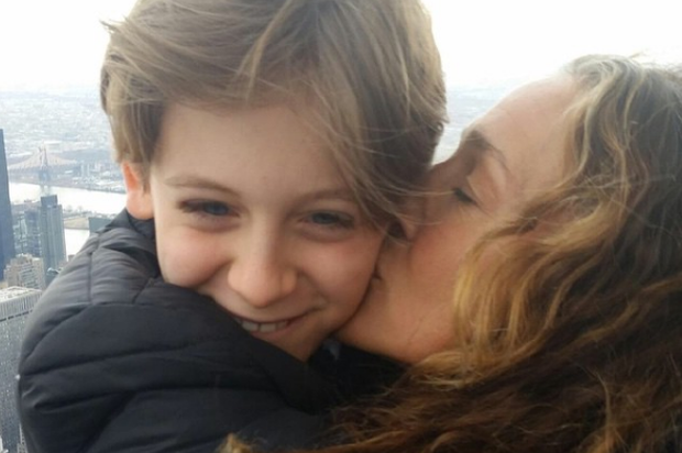 Sarah Jessica Parker with son James Wilkie (13). Photo: Instagram
