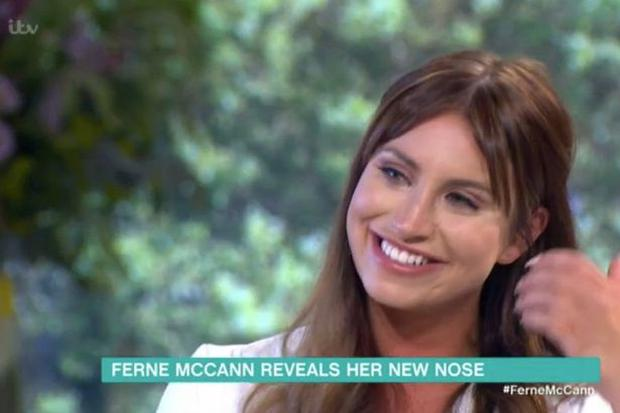 Ferne McCann on This Morning. Photo: ITV / This Morning