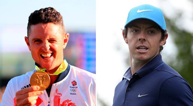 Justin Rose revealed that Rory McIlroy was tuning into the golf at Rio