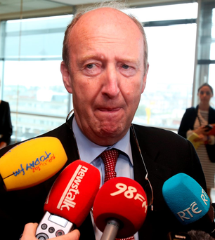 Showdown talks in Rio: Sports Minister Shane Ross. Photo: Tom Burke