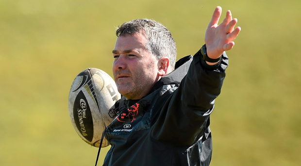 Anthony Foley during Munster squad training. Photo: Sportsfile