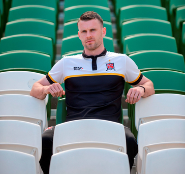 Ciaran Kilduff was gearing up for a season on the sidelines but Dundalk's staff had other ideas. Photo: Piaras Ó Mídheach/Sportsfile