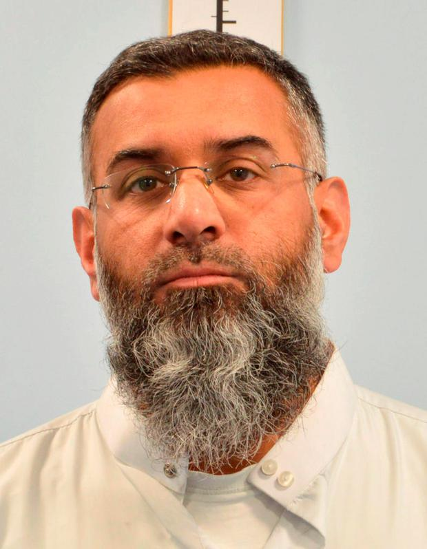 British preacher Anjem Choudary who is facing jail after he was convicted at the Old Bailey of drumming up support for the Islamic State terror group. Metropolitan Police/PA Wire