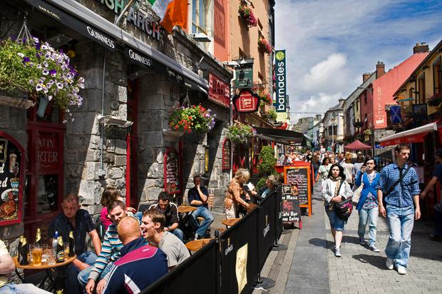 Galway was named the world's friendliest city by readers of another US publication, Travel + Leisure, last year. Photo: Getty Images/National Geographic