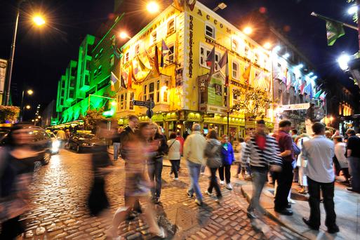 Dublin was named third among the world's 10 friendliest cities by readers of Condé Nast Traveler. Photo: Getty Images/National Geographic