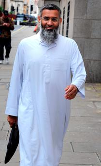 Hate preacher Anjem Choudary. Photo: Nick Ansell/PA Wire