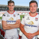 New joint Ulster captains Andrew Trimble and Rob Herring. (Courtesy of Ulster rugby)