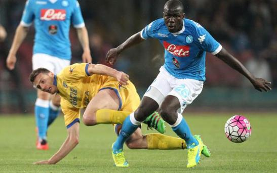 Kalidou Koulibaly could be joining Chelsea soon CREDIT: AFP