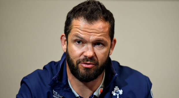 Last season Farrell took on a similar role at Munster before his position as Ireland defence coach began. Photo: Brendan Moran/Sportsfile