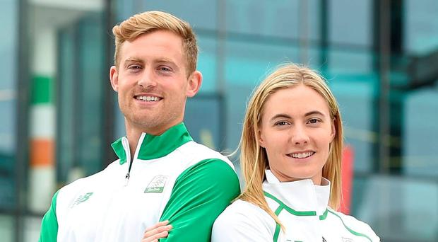Arthur Lanigan-O'Keeffe and Natalya Coyle. Photo: Matt Browne/Sportsfile