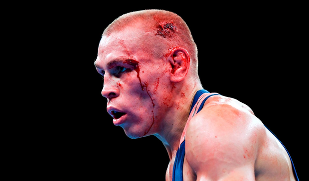 Vladimir Nikitin: Doubtful for semi-final. Photo: Stephen McCarthy/Sportsfile