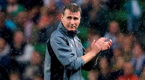 Dundalk manager Stephen Kenny. Photo: Niall Carson/PA Wire