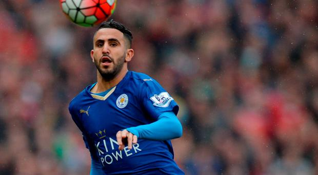 Riyad Mahrez has hinted that only