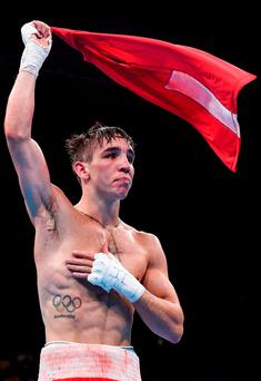 Michael Conlan. Photo: Stephen McCarthy/Sportsfile
