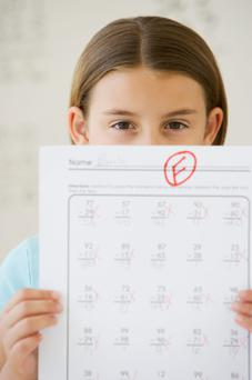 The NPCpp's Helpline was inundated with queries regarding maths failure and how to deal with it. Photo: Getty Images