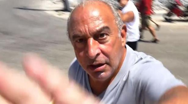 Go Away! Sir Philip Green's Anger At BHS Questions