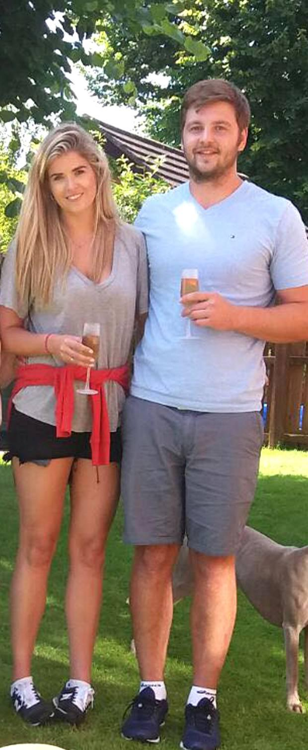 Iain Henderson and Suzanne Flanagan