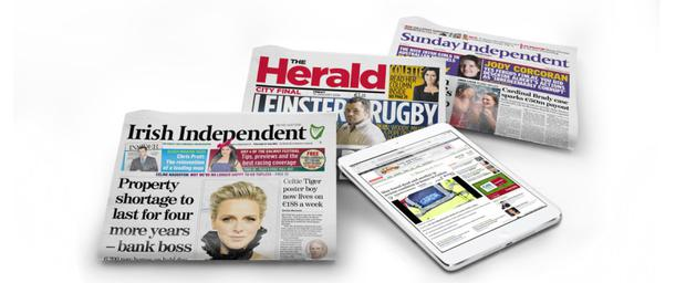 Over 1 million newspapers sold every week across INM titles