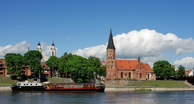 A view from the Nemunas river in Kaunas. Pic: Supplied