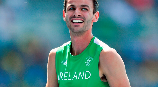 Though Barr yesterday joined the growing band of Irish who have finished fourth in an Olympic final, there was a joyous fulfilment about Barr's performance. Photo: Sportsfile