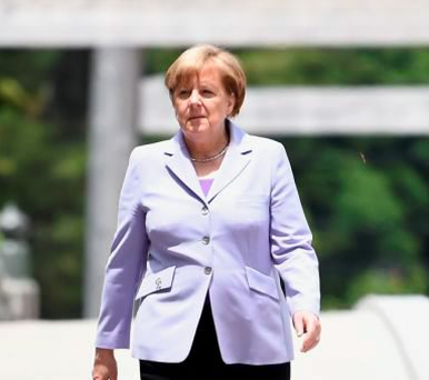 Angela Merkel: facing calls to reverse 'open-door' policy. Photo: Getty Images
