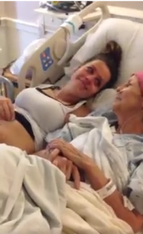 Donna was battling stage four lung and brain cancer and passed away three days after the scan.