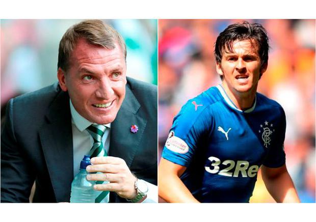 Brendan Rodgers and Joe Barton