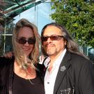 Brenda and John Romero in Dublin last week