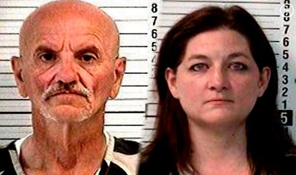 Charged: Gregory Dunphy (64) and Felicia Boesch (39)