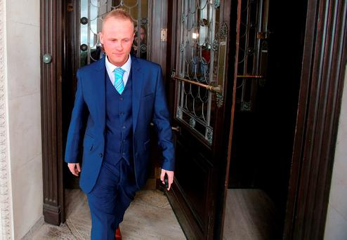 Leaked private Twitter messages purport to show Mr O'Hara, a former local election candidate, coached blogger Jamie Bryson (pictured) on how to deliver testimony. Photo: PA
