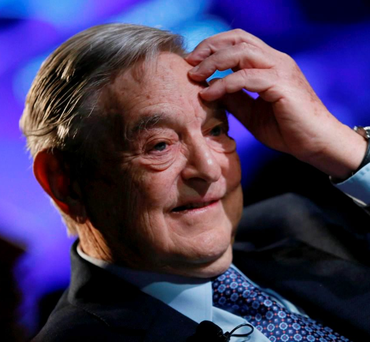 Billionaire George Soros has given financial assistance to Irish organisations Photo: REUTERS/Pascal Lauener