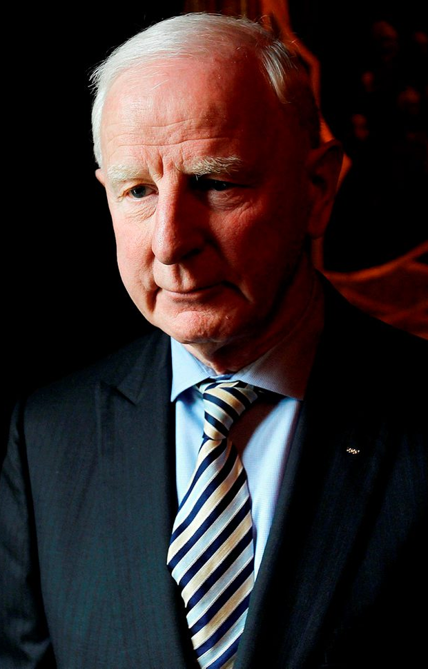 President of the Olympic Council of Ireland Pat Hickey, who has stepped aside from his role temporarily Photo: Julien Behal/PA Wire