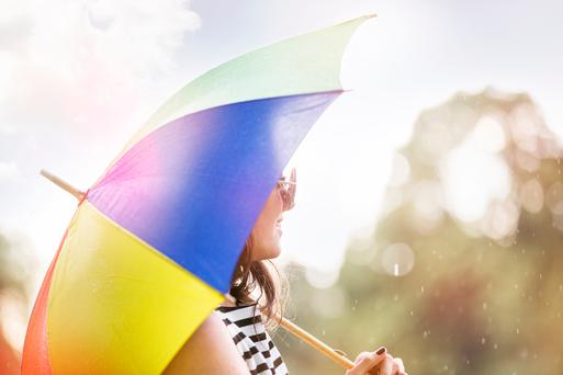 Ireland's topsy turvy weather will continue as weather warnings have been put in place this weekend