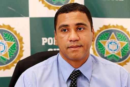 Ricardo Barboza De Souza Head of the Civil Police Fraud Unit at Police City in Rio De Janeiro. Pic Steve Humphreys