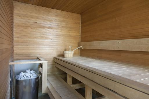 The planned home will feature a sauna