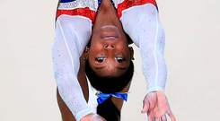 USA gymnastics star Simone Biles Photo: Mike Egerton/PA Wire