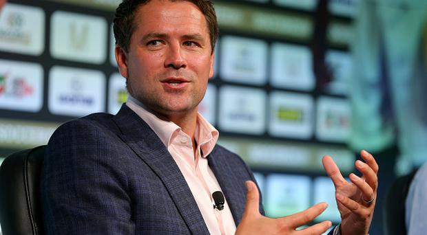 MANCHESTER, ENGLAND - SEPTEMBER 8: Michael Owen takes part in a discussion about 'Life after football' during day four of the Soccerex Global Convention at Manchester Central on September 8, 2015 in Manchester, England. (Photo by Dave Thompson/Getty Images)