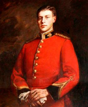 BRAVERY: Maurice Dease, who was killed in the Battle of Mons in August 1914