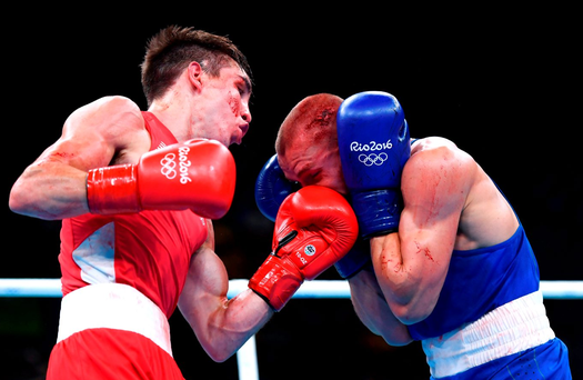 'Afterwards, a red-faced Conlan wept and howled at the moon, looking for answers that would never come.' Photo by Stephen McCarthy/Sportsfile